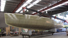 buizen yachts 52 construction photos